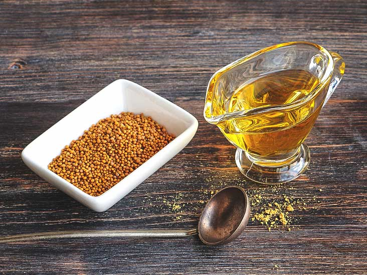 Benefits of Mustard Oil for weight loss